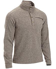 EMS® Men's Roundtrip 1/4-Button Pullover Fleece