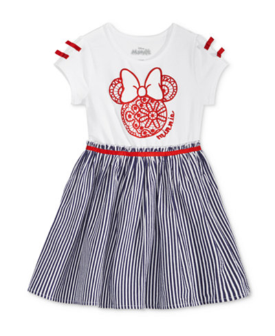 Disney's® Minnie Mouse Striped Dress, Toddler Girls