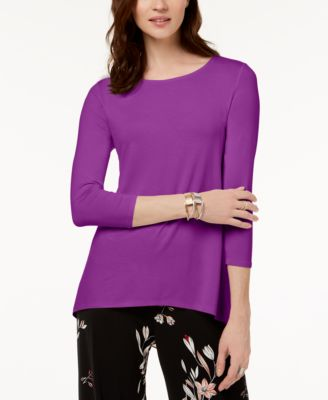 Mixed-Media Top, Created for Macy's