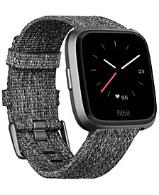 Versa™ Charcoal Woven Band Touchscreen Smart Watch 39mm