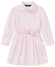 Polo Ralph Lauren Gingham Shirtdress, Toddler Girls