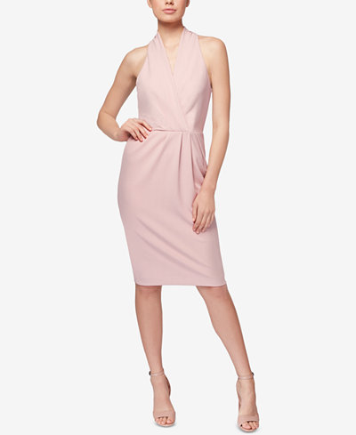 Betsey Johnson Surplice Sheath Dress