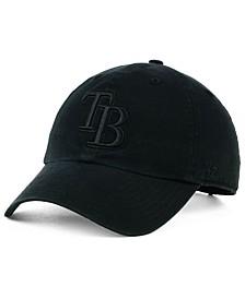 Tampa Bay Rays Black on Black CLEAN UP Cap