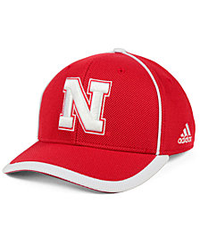 adidas Nebraska Cornhuskers Piping Hot Adjustable Cap