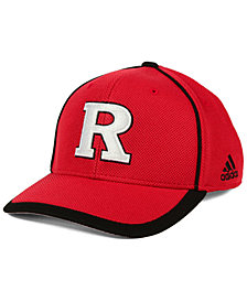 adidas Rutgers Scarlet Knights Piping Hot Adjustable Cap