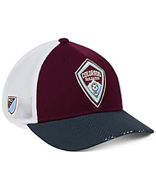 adidas Colorado Rapids Authentic Mesh Adjustable Cap