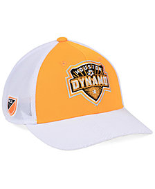 adidas Houston Dynamo Authentic Mesh Adjustable Cap