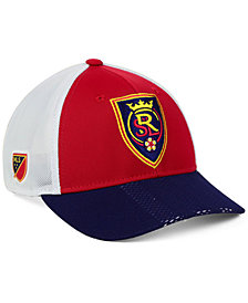 adidas Real Salt Lake Authentic Mesh Adjustable Cap