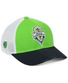 adidas Seattle Sounders FC Authentic Mesh Adjustable Cap
