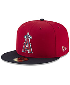 New Era Boys' Los Angeles Angels Batting Practice Prolight 59FIFTY FITTED Cap