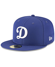 New Era Boys' Los Angeles Dodgers Batting Practice Prolight 59FIFTY FITTED Cap