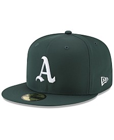 New Era Boys' Oakland Athletics Batting Practice Prolight 59FIFTY FITTED Cap