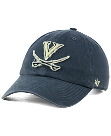 '47 Brand Virginia Cavaliers Double Out CLEAN UP Cap