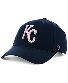 '47 Brand Kansas City Royals Navy Pink MVP Cap