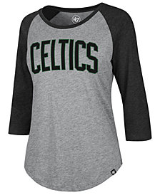'47 Brand Women's Boston Celtics Club Raglan T-Shirt