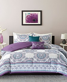 Anika 5-Pc. Full/Queen Comforter Set