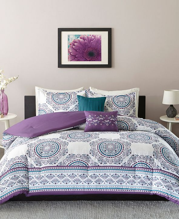 Intelligent Design Anika 4-Pc. Twin/Twin XL Coverlet Set