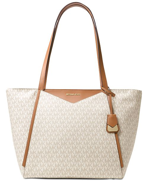 554feedebe8e Michael Kors Signature Whitney Large Tote & Reviews - Handbags ...