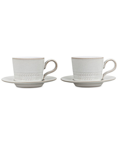 Denby Natural Canvas 4-Pc. Espresso Set
