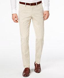 Michael Kors Men's Interlock Slim-Fit Pants