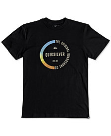 Quiksilver Men's Rainbow Circle Graphic T-Shirt