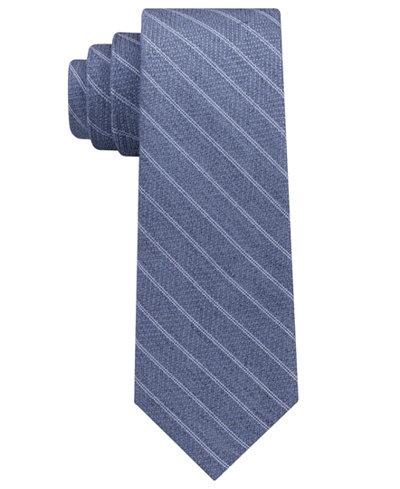 DKNY Men's Stripe Slim Tie