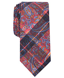 Tallia Men's Decker Paisley Slim Tie