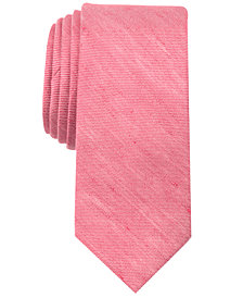 Tallia Men's Bowie Solid Slim Tie