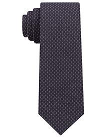 Michael Kors Men's Contrast Tail Geometric Slim Tie