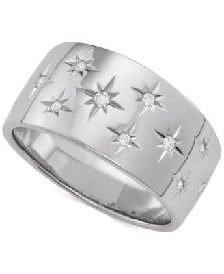 Marchesa Diamond Star Wedding Band 16 ct tw in 18k White Gold