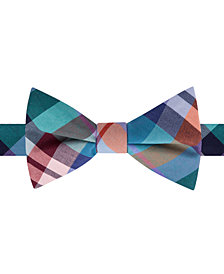 Tommy Hilfiger Men's Multi-Plaid To-Tie Bow Tie