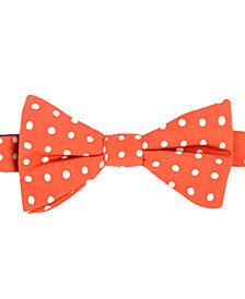 Tommy Hilfiger Men's Printed Dot To-Tie Silk Bow Tie