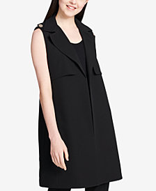 Calvin Klein Notched-Collar Vest