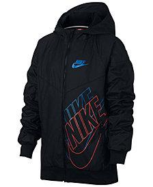Nike Sportswear Windrunner Hooded Jacket, Big Boys