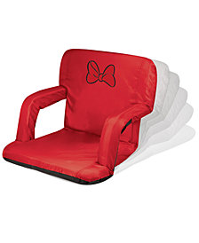 Picnic Time Minnie Mouse Ventura Portable Reclining Stadium Seat