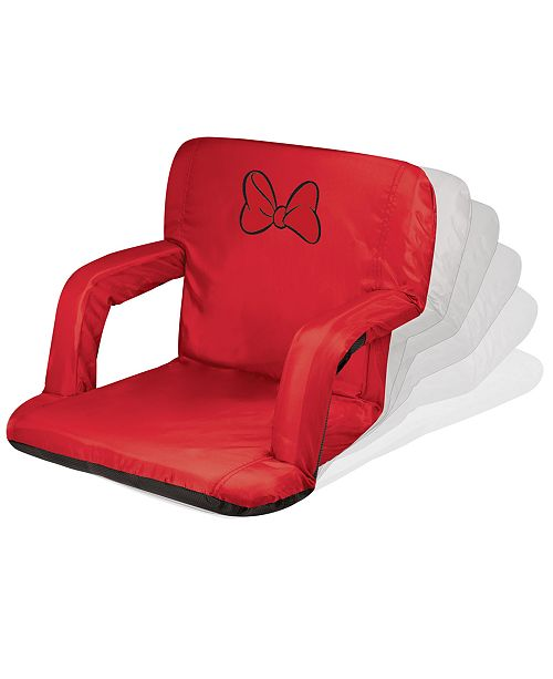 Picnic Time Oniva™ by Minnie Mouse Ventura Portable Reclining Stadium Seat