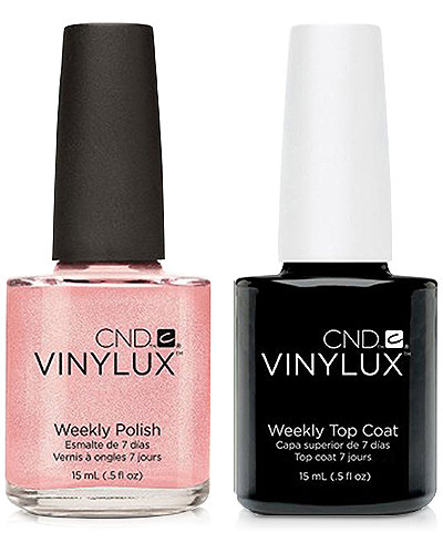 Creative Nail Design Vinylux Grapefruit Sparkle Nail Polish & Top Coat (Two Items), 0.5-oz., from PUREBEAUTY Salon & Spa