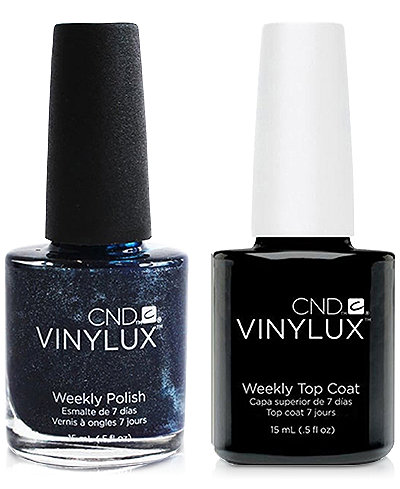 Creative Nail Design Vinylux Midnight Swim Nail Polish & Top Coat (Two Items), 0.5-oz., from PUREBEAUTY Salon & Spa