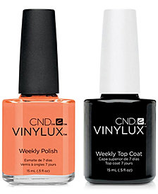 Creative Nail Design Vinylux Shells In The Sand Nail Polish & Top Coat (Two Items), 0.5-oz., from PUREBEAUTY Salon & Spa