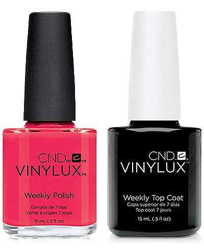 Creative Nail Design Vinylux Ecstasy Nail Polish & Top Coat (Two Items), 0.5-oz., from PUREBEAUTY Salon & Spa