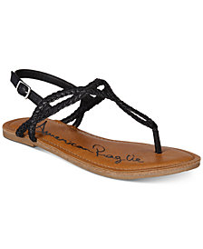 American Rag Keira Braided Flat Sandals, Created for Macy's