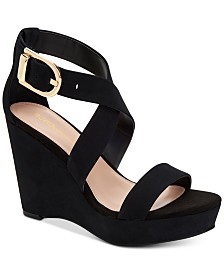 BCBGeneration Jae Platform Wedge Sandals