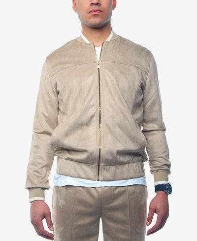 Sean John Men's Moleskin Track Jacket, Created for Macy's
