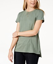 f5a4b507 Maison Jules High-Low T-Shirt, Created for Macy's