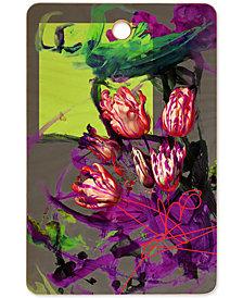 Deny Designs Biljana Kroll Bouquet of Tulips Cutting Board