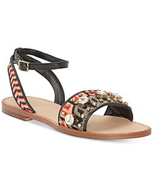 Vince Camuto Akitta Embellished Flat Sandals