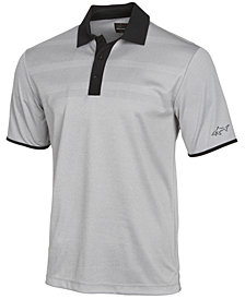 Greg Norman for Tasso Elba Men's Engineered-Stripe Performance Polo, Created for Macy's
