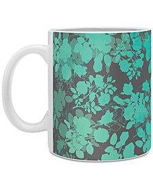 Deny Designs Gabi Audrey Teal Coffee Mug