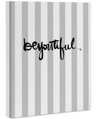 """Kal Barteski beYOUtiful stripes Art Canvas 8x10"""""""