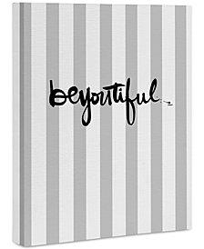 """Deny Designs Kal Barteski beYOUtiful stripes Art Canvas 16x20"""""""